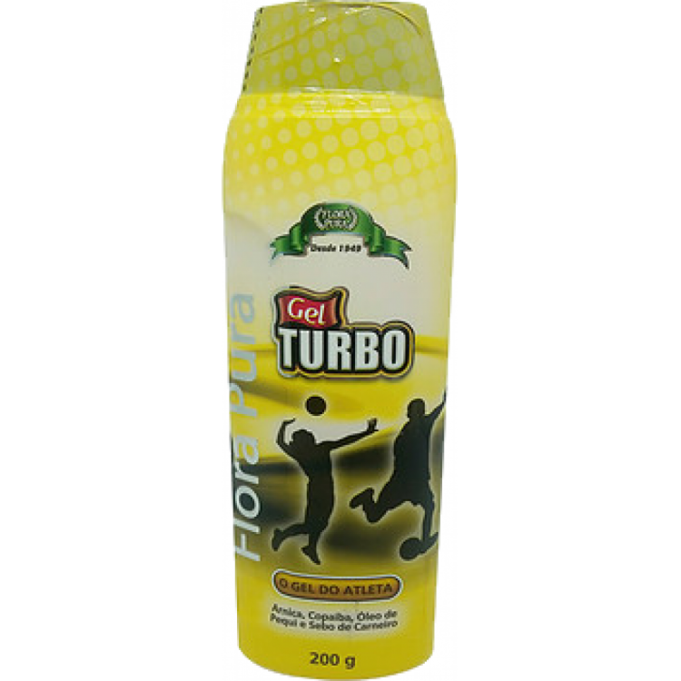 GEL DO ATLETA CONTRA DORES MUSCULARES 200G TURBO